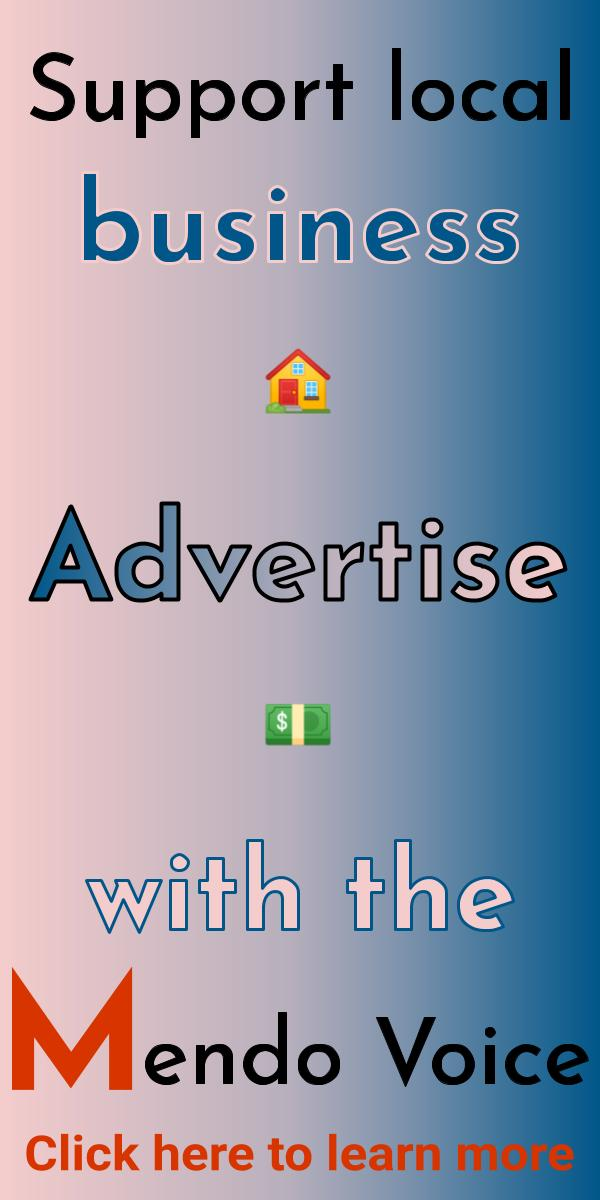 Support local business, advertise with the Mendo Voice