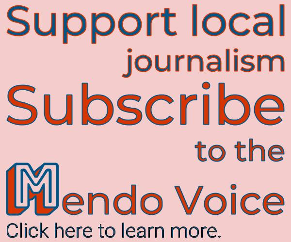 Support local news, subscribe to the Mendo Voice