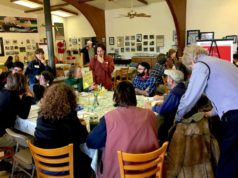 Farmers, food advocates, retail buyers, and food workers shared ideas during the roundtable talks.