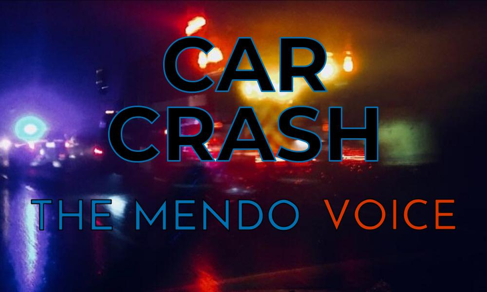 Mendo Voice graphic - car crash