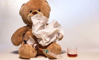 Teddy bear vaccine