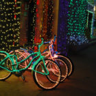 Join Walk & Bike Mendocino for Christmas lights community bike parades in Ukiah and Willits