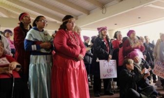 Women's March in Ukiah emphasizes murdered and missing indigenous women — watch the video